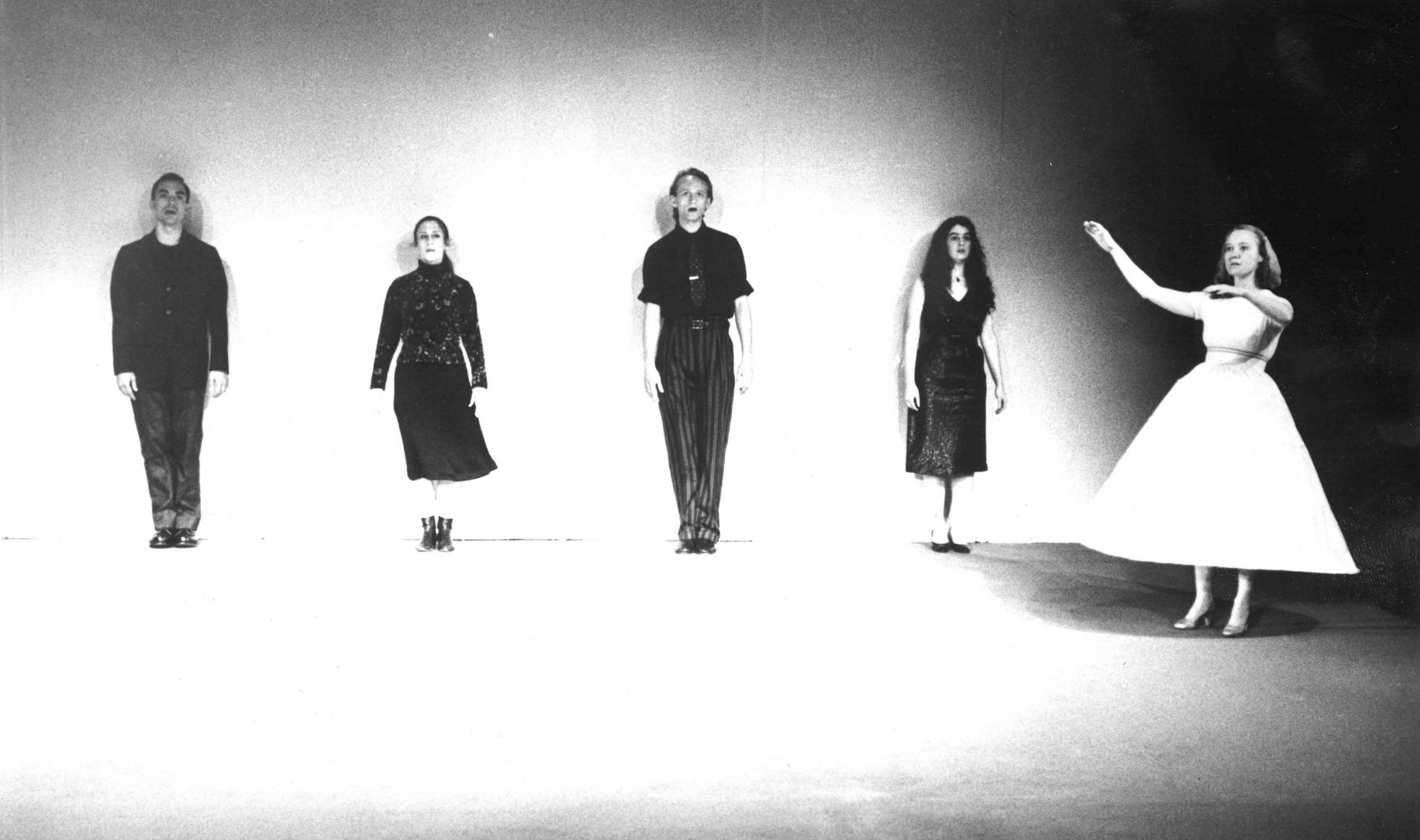 Turtle Dreams (Cabaret), Meredith Monk, Paul Langland, Meredith Monk, Robert Een, Andrea Goodman + Gail Turner, FTA 1987© Jack Vartoogian