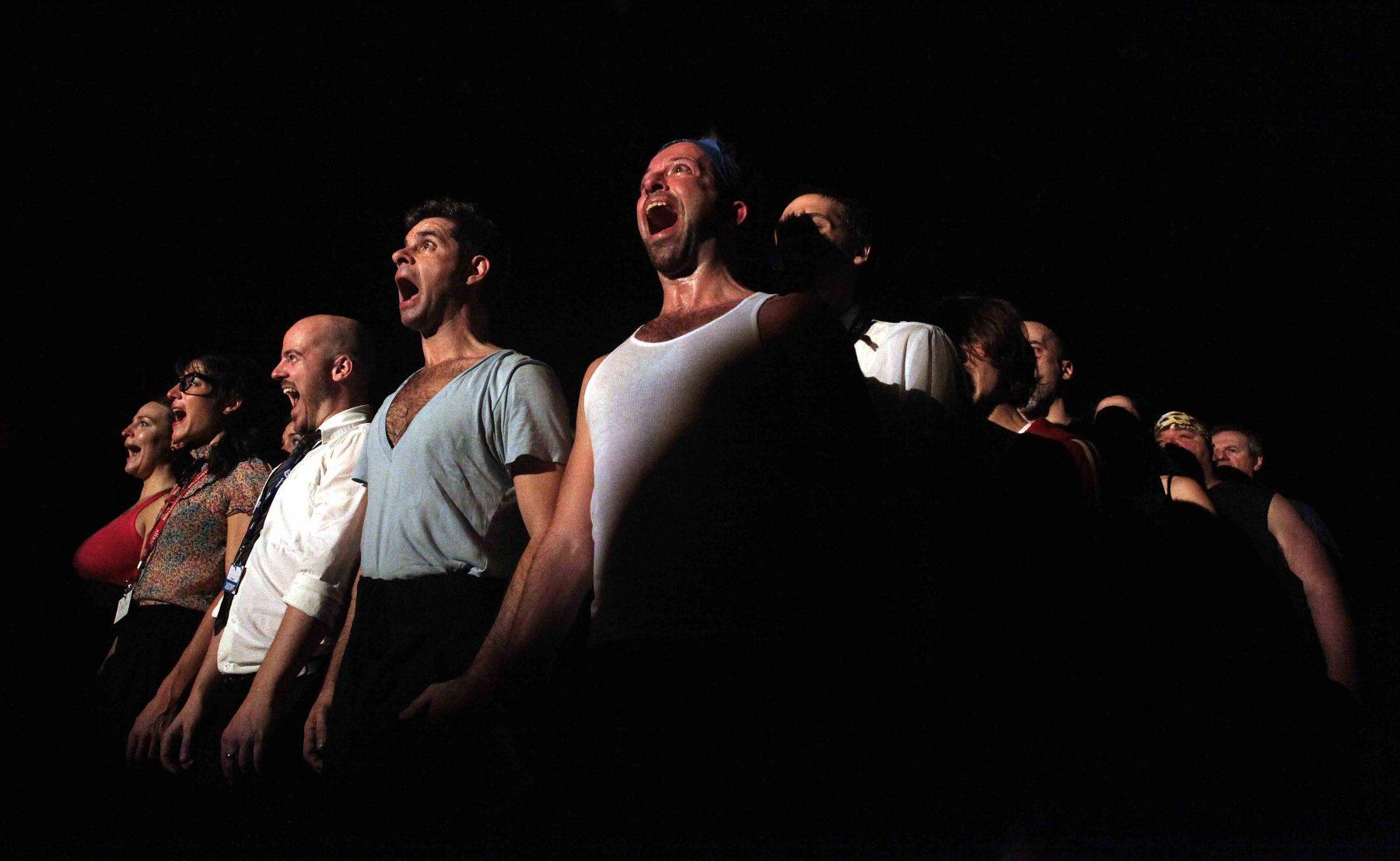 Chante avec moi, Olivier Choinière, FTA 2012