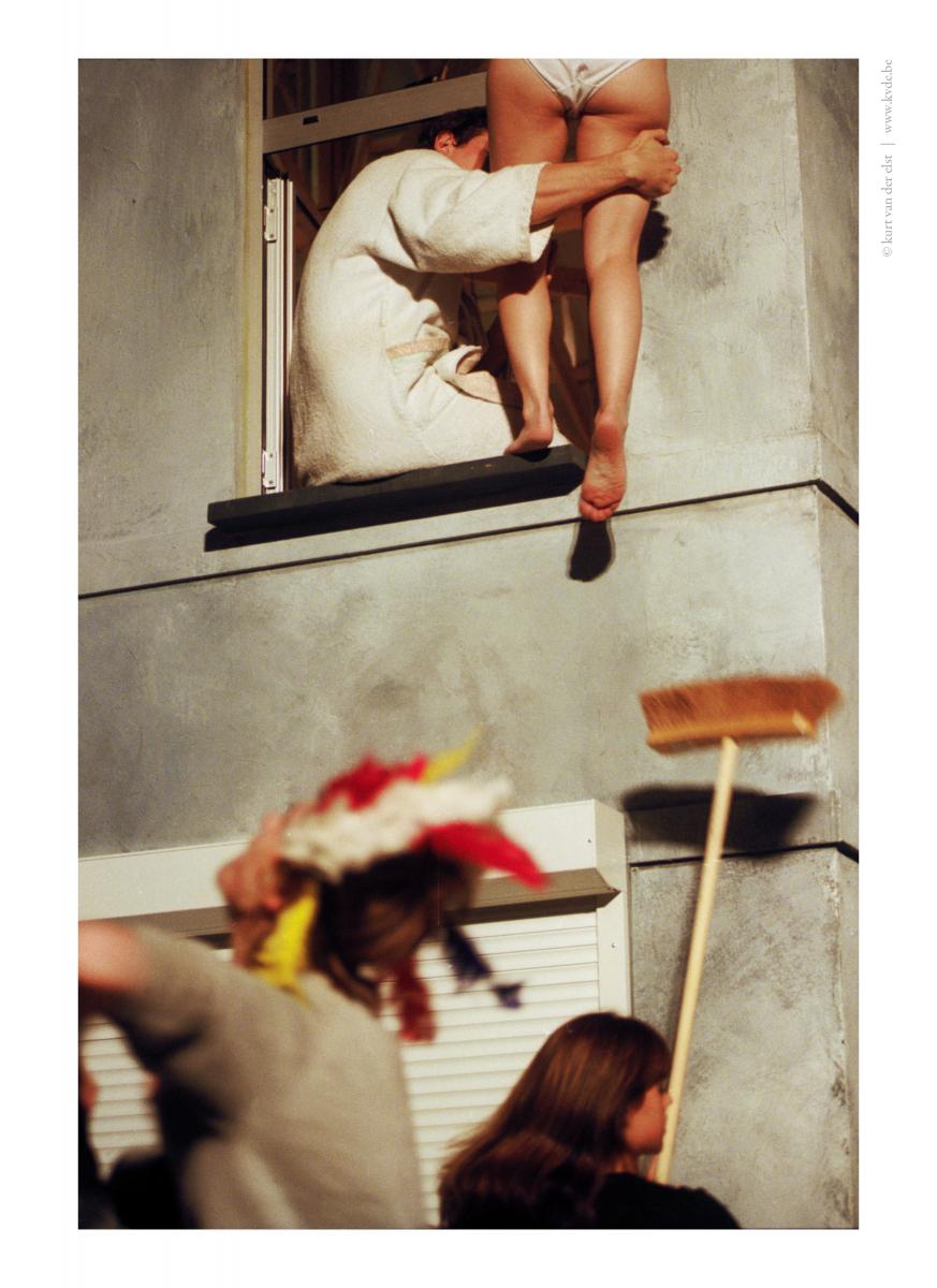 Allemaal indiaan, Alain Platel, FTA 2001 © Kurt Van der Elst